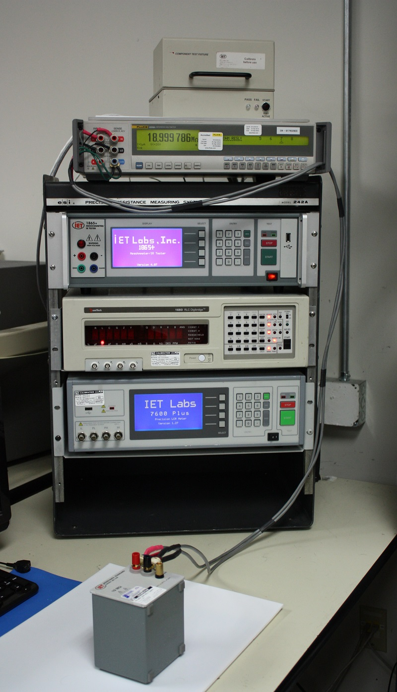 Typical Test Station at IET Labs