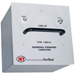 Condensateurs standard primaires de la série GenRad 1404