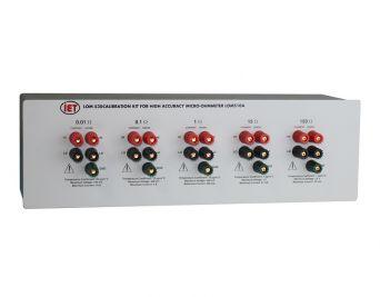 Kit d'étalonnage de microohmmètre LOM-530 pour LOM-510A