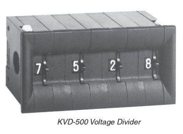 KVD-500 Kelvin-Varley Diviseur de tension